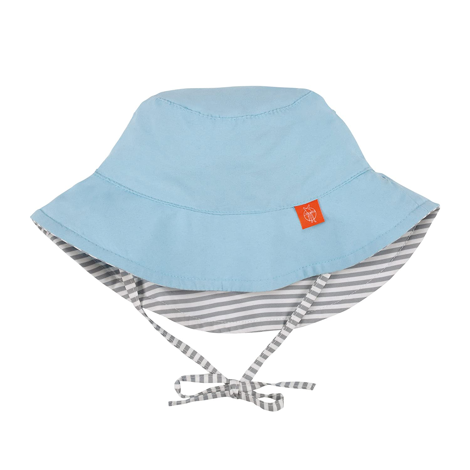 Lässig 1433005211 Baby Sun Protection Bucket Hat Sonnenhut, Small Stripes, Size: Infant 6-18 Monate, mehrfarbig Laessig GmbH 1433005211-18