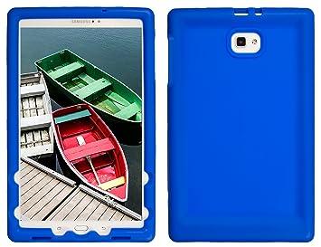 BobjGear Carcasa Resistente para Tablet Samsung Galaxy Tab A 10.1, SM-T580, SM-T585, No se Ajusta a los Modelos S-Pen - Bobj Funda Protectora (Azul)