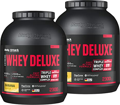 Body Attack Extreme proteína Deluxe: Amazon.es: Alimentación ...