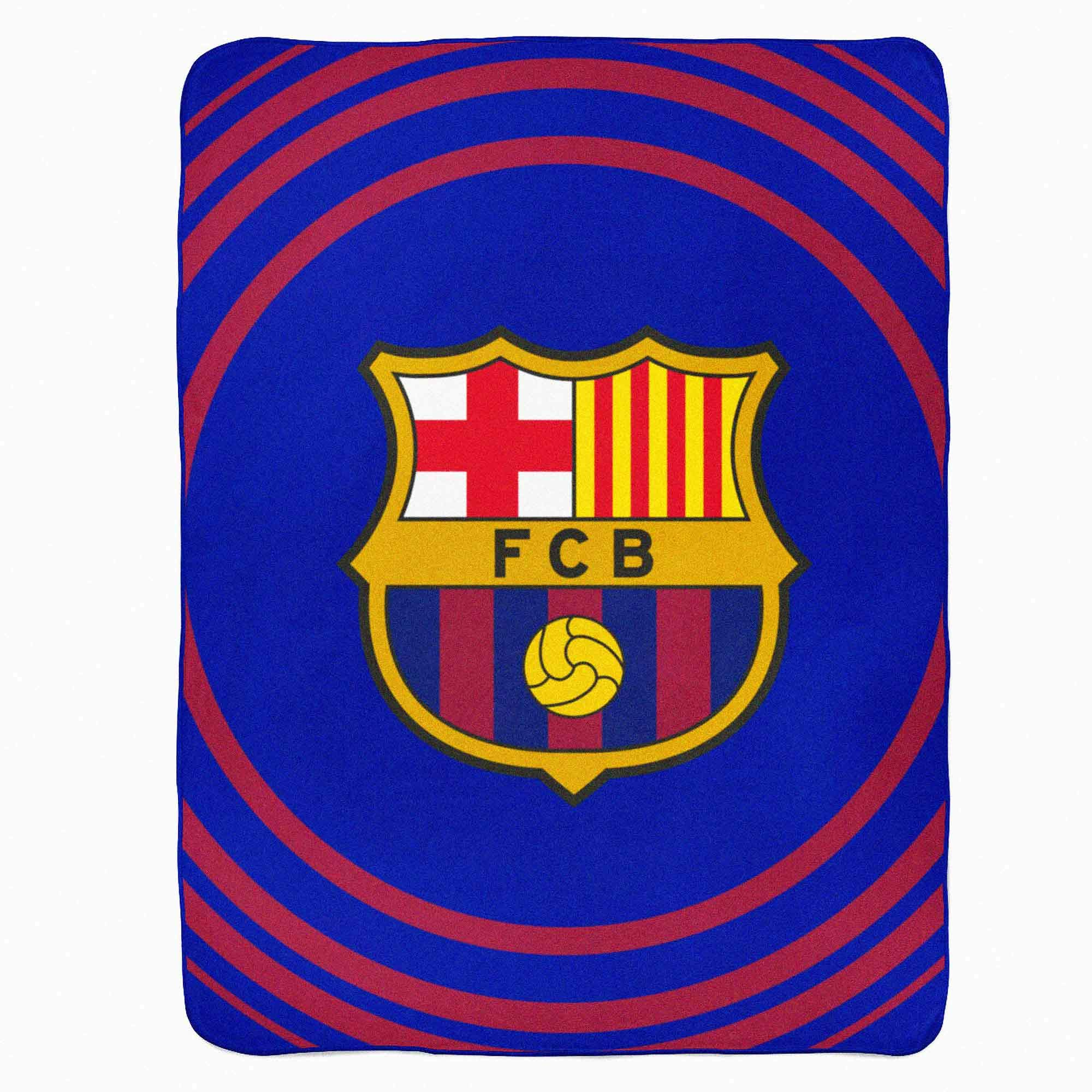 310 x 160 x 410 mm FC Barcelona Ball Official Junior Laptop Backpack 14.1 inches