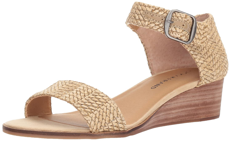 Lucky Brand Women's Riamsee Wedge Sandal B077G5BD5X 6 B(M) US|Natural