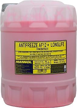 1 X 1l Pemco 912 Longlife Antifreeze Kühlerfrostschutz Fertigmischung 40 Grad Rot Lila Auto
