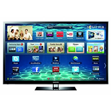 samsung tv uk. samsung ps51e550 51-inch widescreen full hd 3d plasma television with freeview and 2 glasses tv uk 0