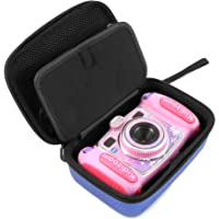 CASEMATIX KIDCASE Camera Case For VTech Kidizoom Camera PIX and DUO Selfie Camera - By, INCLUDES CASE ONLY (Blue)