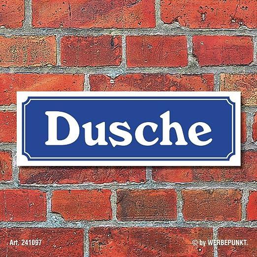 Cartel en placa de calle de diseño
