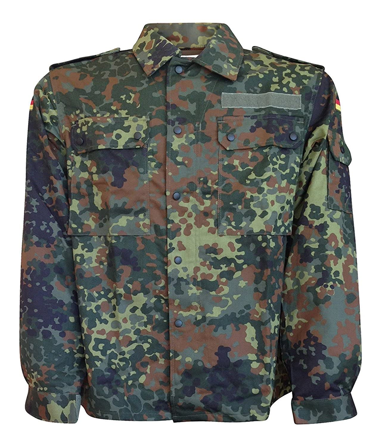 Miltec German Army Flecktarn Camouflage Field Shirt