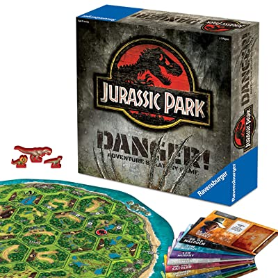 Ravensburger Jurassic Park Danger! Adventure Strategy Game for Kids & Adults Age 10 & Up!: Toys & Games