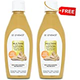 ST. D'VENCE Multani Mitti Lotion With Natural Rose Water, 275 ml (Buy 1 Get 1 FREE)