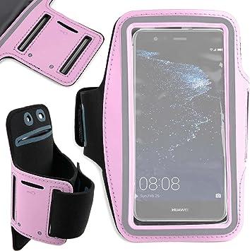 DURAGADGET Brazalete Deportivo para Smartphone Huawei P10 Plus, Huawei P10, Huawei P8 Lite (2017), Huawei Y6: Amazon.es: Electrónica
