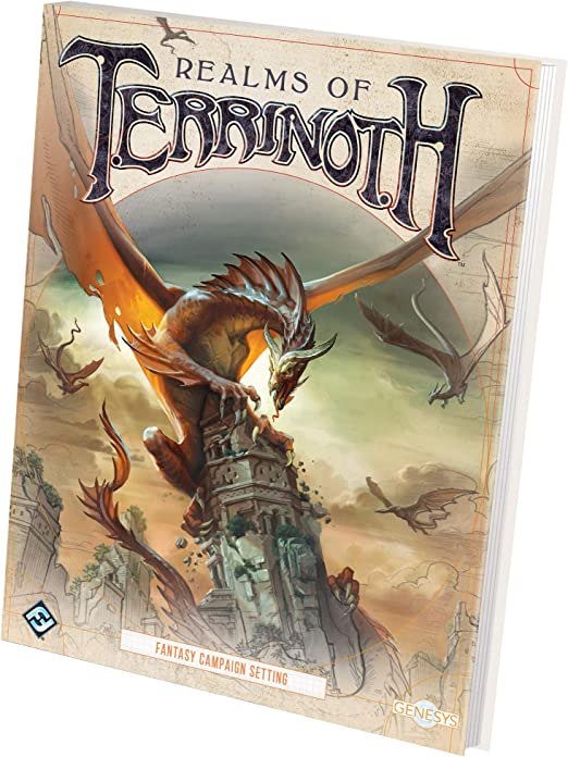 Fantasy Flight Games FFGGNS03 Realms of Terrinoth: Genesys RPG: Amazon.es: Juguetes y juegos