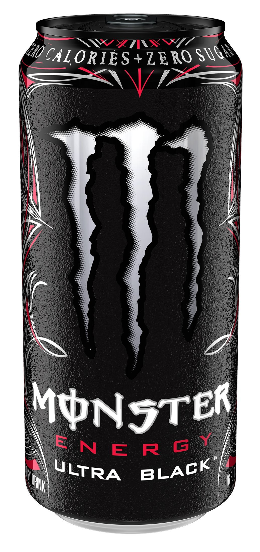 Monster Energy, Ultra Black, 16 Ounce (Pack of 24)