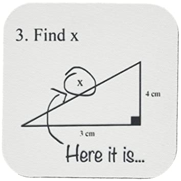 amazon 3drose cst 107310 1 find x here it is math humor school