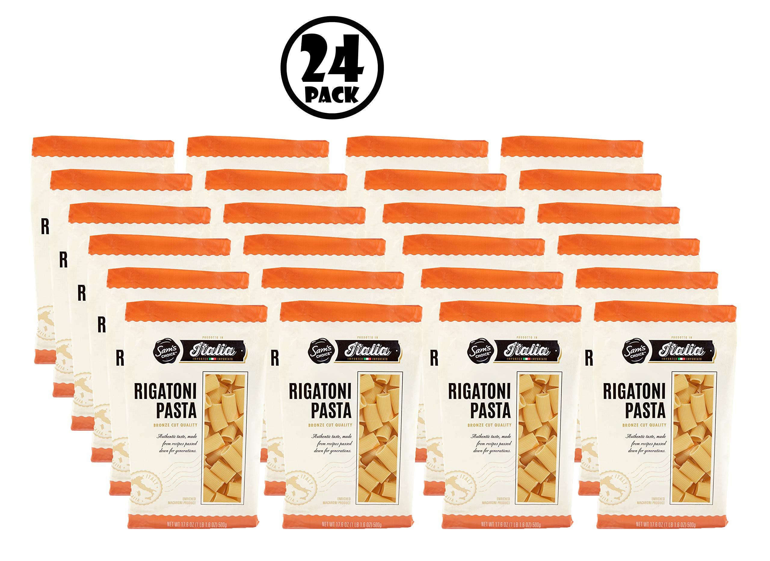 (24 Pack) Sam's Choice Italia Rigatoni Pasta, 500g by Sam's Choice