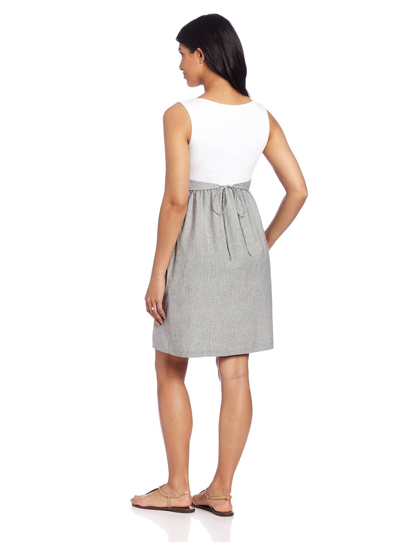 cc743c16fe6 Maternal America Women's Maternity Ruffle Pocket Dress at Amazon Women's  Clothing store: