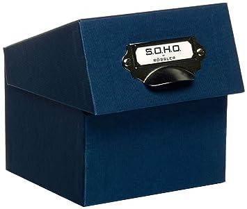 Rössler 1325452900 - Archivador para fotos (A6), color azul: Amazon.es: Oficina y papelería