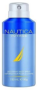 Voyage Deodorant Body Spray, 5 Fluid Ounce