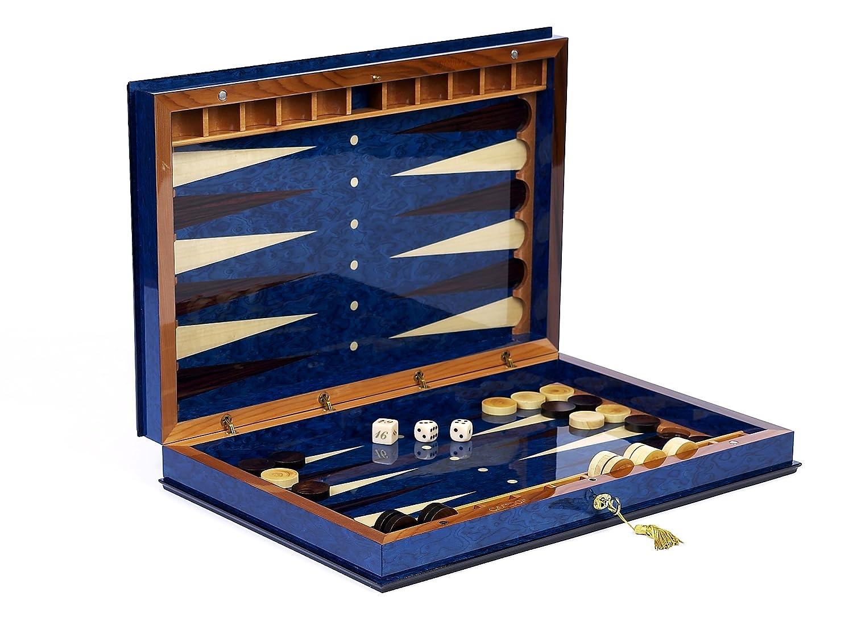 Bello Games Collezioni - Giovanni Luxury Wooden Backgammon Set from Italy  26