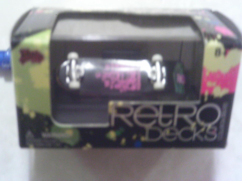 Retro Decks Vision Streetwear Collectible Finger Skateboard by Malibu International