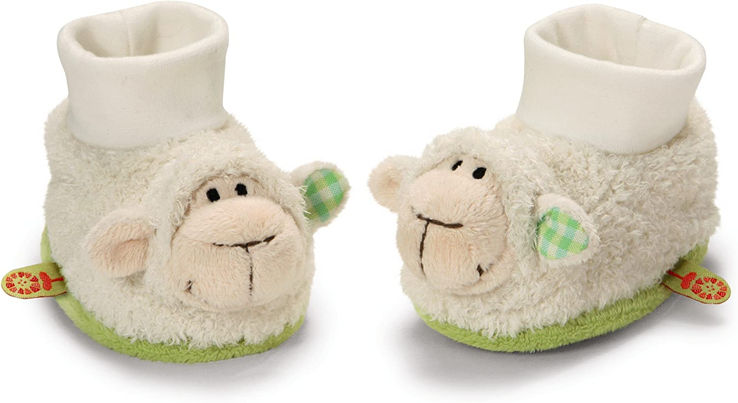 My First NICI Lamb Rattle Booties