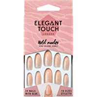 Elegant Touch Wild Nudes Nails, You Glow, Girl!