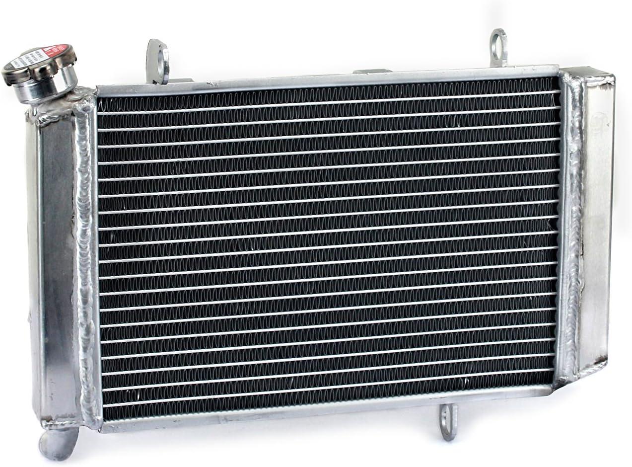 TARAZON ATV Moto Radiador Enfriamiento de Aluminio para Quadsport Z400 LTZ400 2003 2004 2005 2006 2007 2008, refrigeración del motor