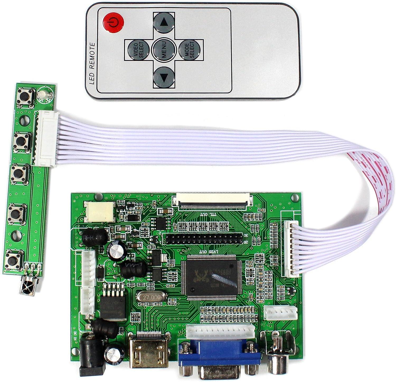 """AT070TN92 HDMI LCD Controller Board 6.5/"""" 7/"""" 8/"""" 9/"""" AT065TN14 800x480 LCD 50pin"""