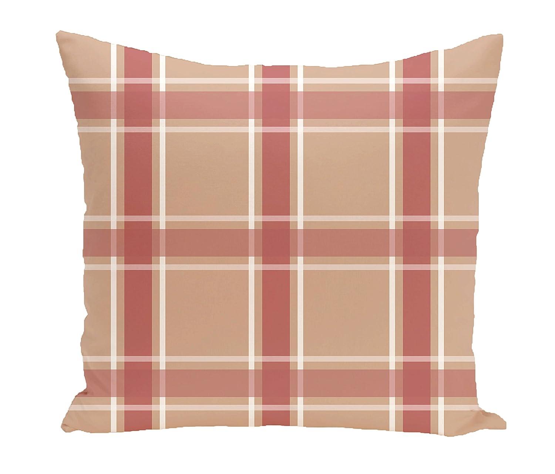E by design O5PGN189TA5OR8-16 Printed Outdoor Pillow
