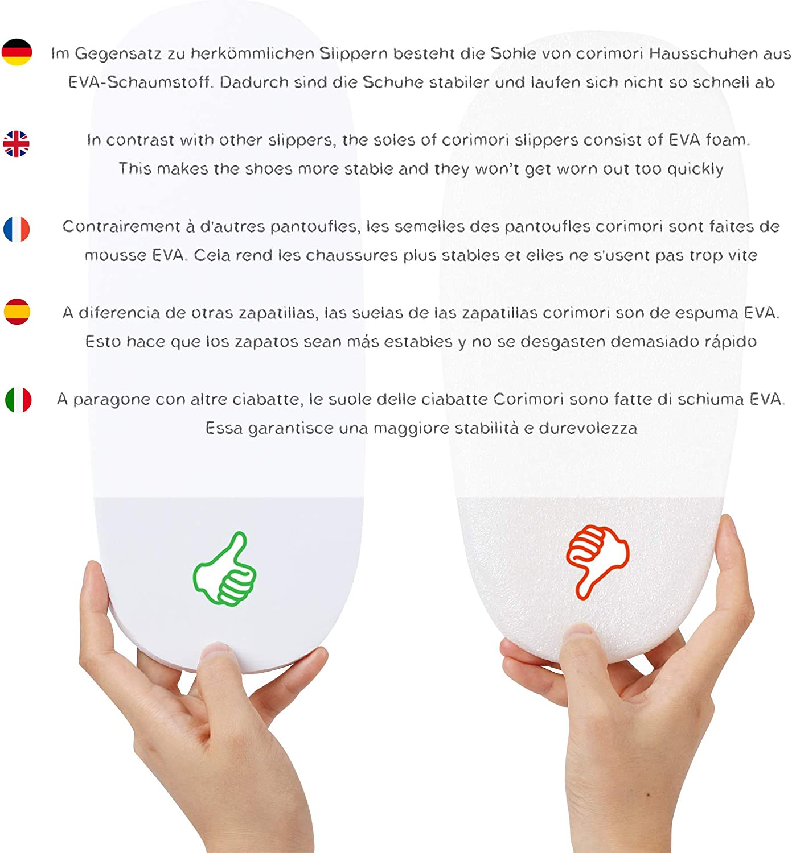 Pantoufles Mignonnes En Peluche Polaire Plusieurs Mod/èles corimori  1847 - Beige Taille Unique 25-33,5 Akito Le Shiba Inu Chaussons Avec T/ête DAnimal
