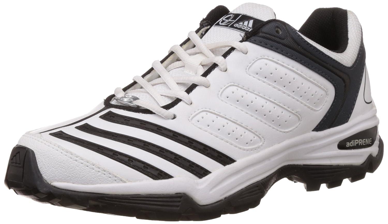 adidas d70714 22yds trainer cricket scarpe, uomini uk 6 (bianco / nero
