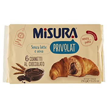 Amazon.com: Medición Privolat Cornetto Chocolate sin aceite ...