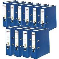 Originele Falken 10-pack PP-Color plastic ordners. Made in Germany. 8 cm breed DIN A4 blauw Vegan ringmap ordner…