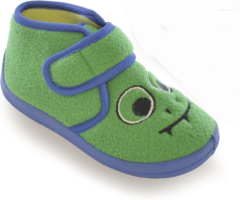 Bambino Severyn Pantofole con Cinturino a Strappo