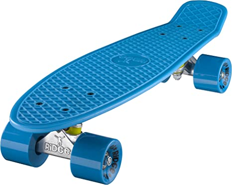 "Ridge 27/"" PASTELLI Serie Mini Cruiser Skateboard Deck COMPLETO Board in plastica"