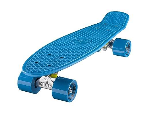 50 opinioni per Ridge Skateboards 22 Mini Cruiser Skateboard, Blu/Blu