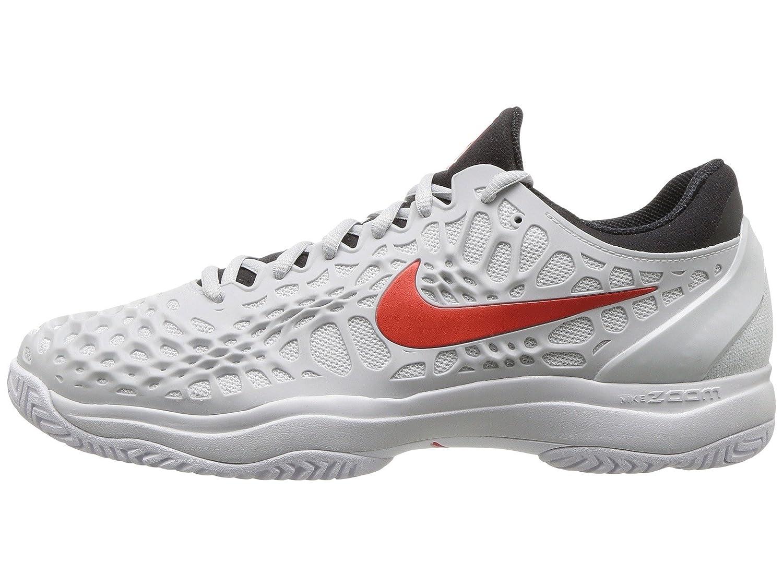 fbcb629e08190b 918193-016 Nike Mens Zoom Cage 3 Tennis Shoes Platinum Habanero B00H5MJVQ0  10 D(M) ...
