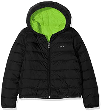 4afe05d4632 Image Unavailable. Image not available for. Color: Hugo Boss Boys Reversible  Down Jacket ...