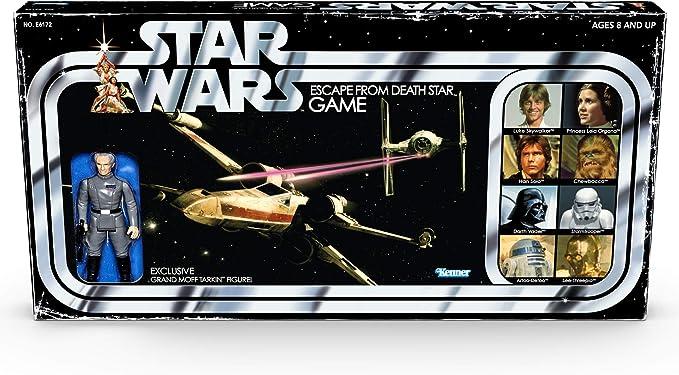 Juego de Mesa Star Wars Escape de la Estrella de la Muerte con Figura Exclusiva de Tarkin a Partir de 8 años: Amazon.es: Juguetes y juegos