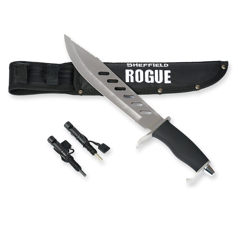 large steel survival knife