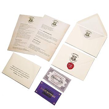 Rak Mark Carta aceptación Hogwarts en Castellano Personalizada Harry Potter
