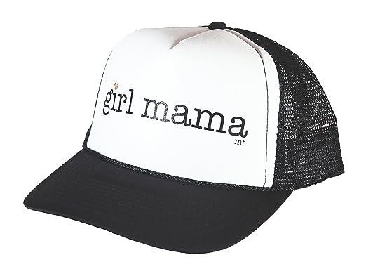 05c7a0676 Amazon.com: Mother Trucker & co. Girl Mama Women's Trucker Hat In ...