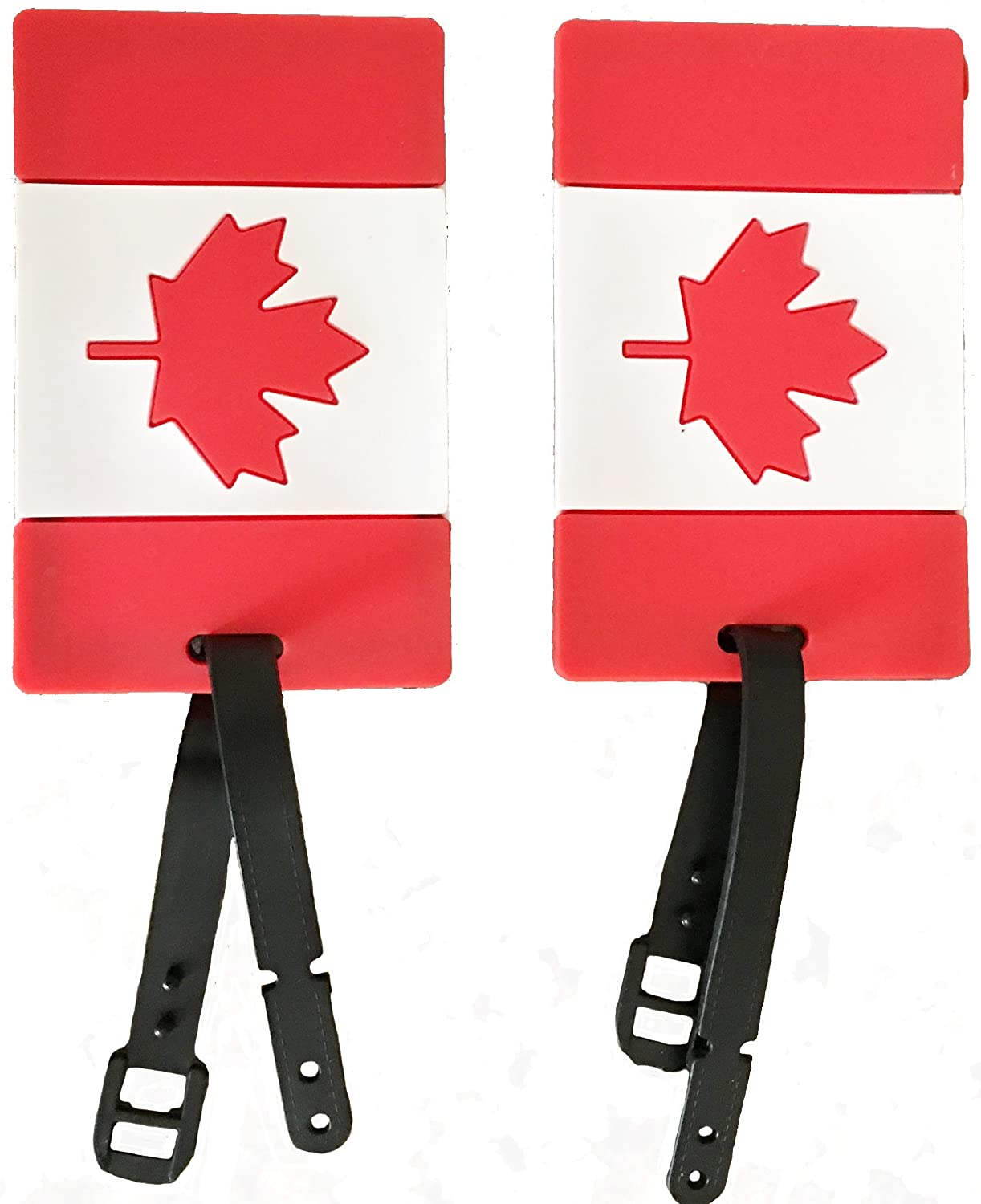 2-Piece Set of Luggage Tags Carry-On Suitcase Travel Air Flight Tags Archibolt