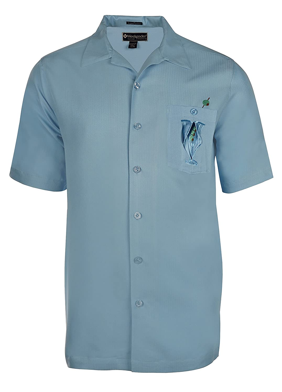 Weekender Mens Hidden Martini Embroidered Shirt