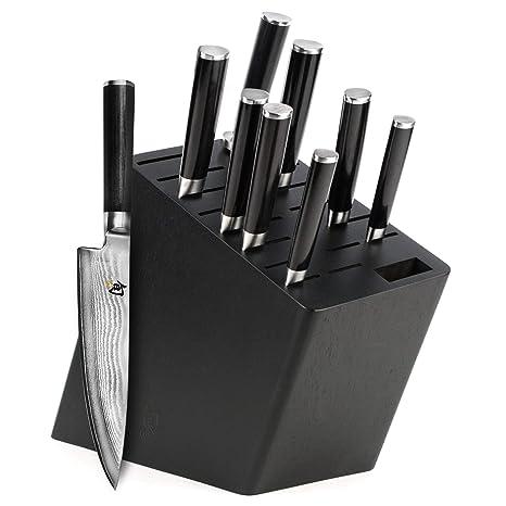 Amazon.com: Shun Classic - Juego de cuchillos (10 piezas ...