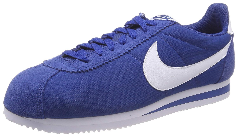 Mehrfarbig (Gym Blau Weiß 406) Nike Herren Classic Cortez Nylon Laufschuhe