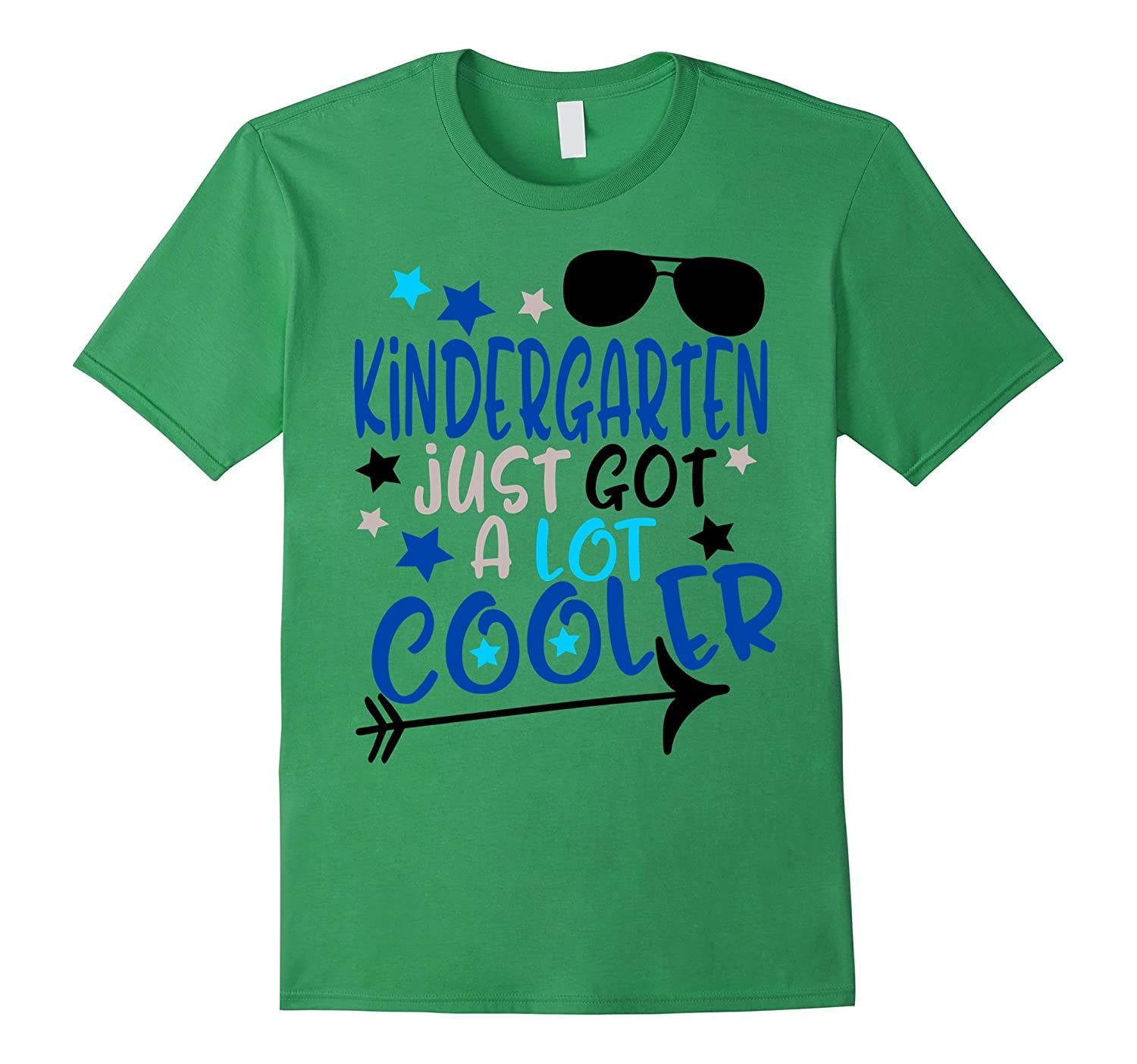 First Day of School Shirt Kids Kindergarten Just Got Cooler-BN