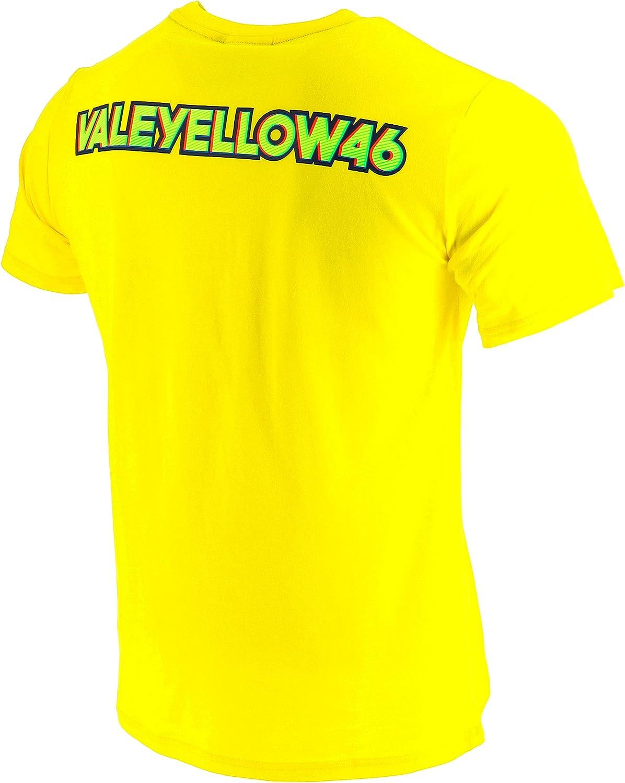 VR46 Rossi 46 Valeyellow tee - Rossi 46 Valeyellow - Camiseta Hombre: Amazon.es: Ropa y accesorios