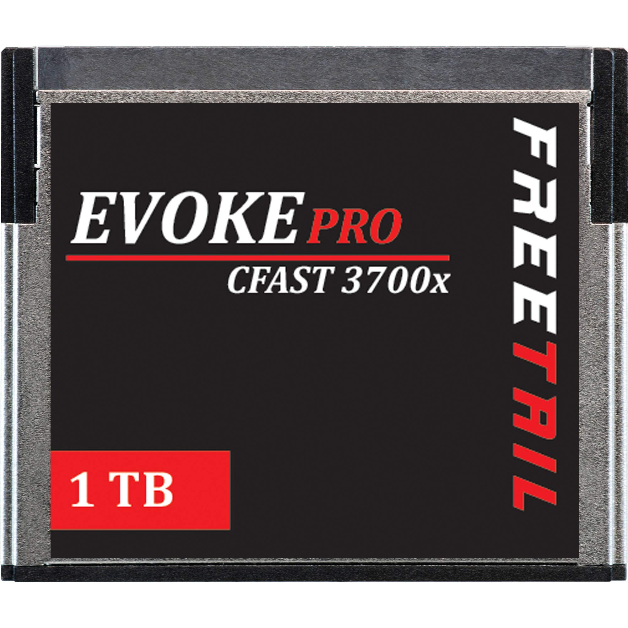 FreeTail Evoke Pro 1TB Cfast Card Speeds up to 560MB/s, VPG 130 Made for Canon, BlackMagic Design, Hasselblad, and Phantom Devices (FTCF001A37) by FreeTail