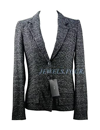 a05a0370fb2 Image Unavailable. Image not available for. Color  Hugo Boss Cotton   Wool  Business JASMENA Blazer Jacket ...