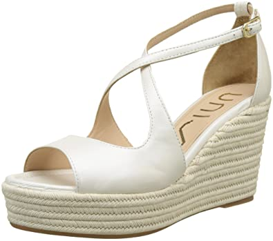 Unisa Leslie_Na_n, Zapatos de Boda para Mujer, Blanco (Bone), 40 EU