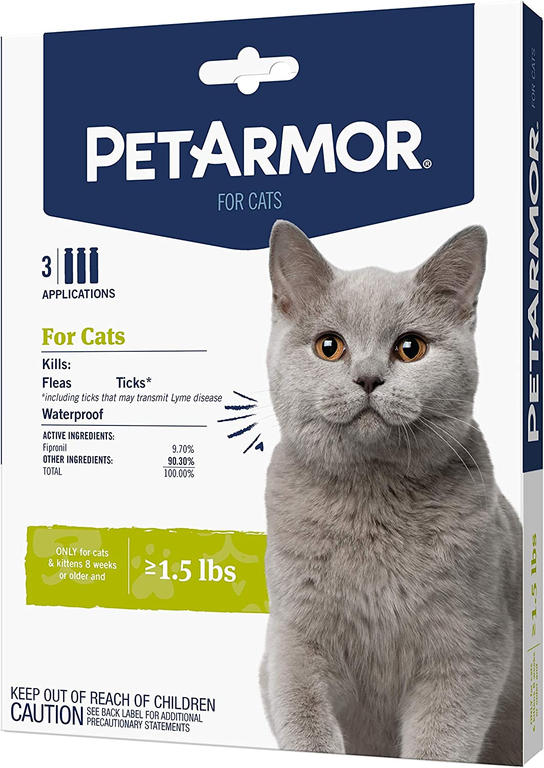 5. PetArmor Flea & Tick Squeeze-On Treatment for Cats and Kittens